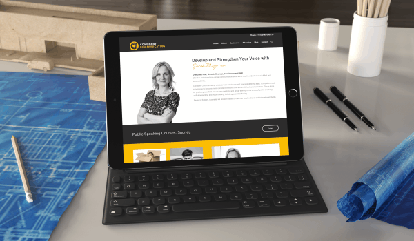 TCD Web Design | Confident Communicating